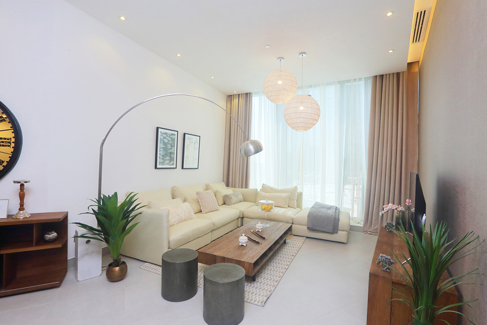 Two Bedroom Apartments Livingroom
